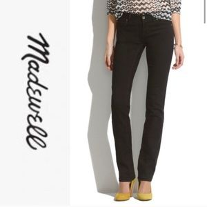 Madewell Black Rail Straight Jeans, Size 23